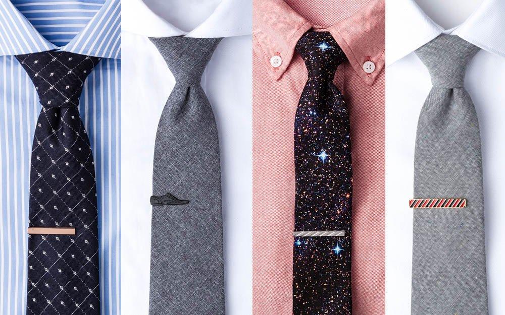 Διάφορα κλιπ γραβάτας