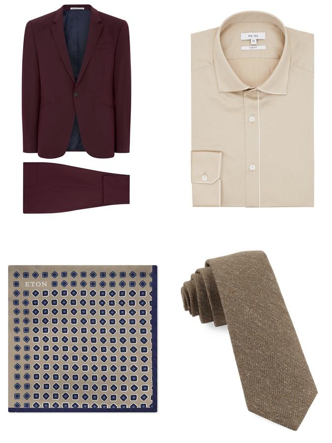 Κοστούμι και Ποσέτ και Γραβάτα